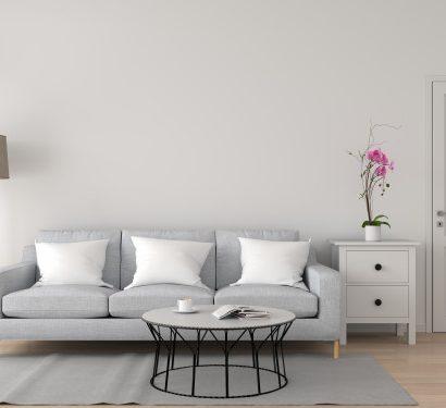 indretning i stuen