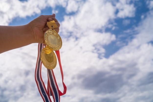 flotte guldmedaljer