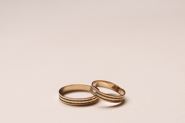 rosaguld ringe