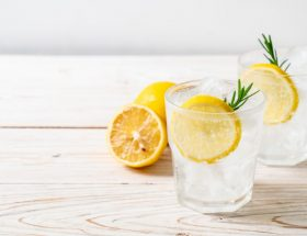 sommer gin drink