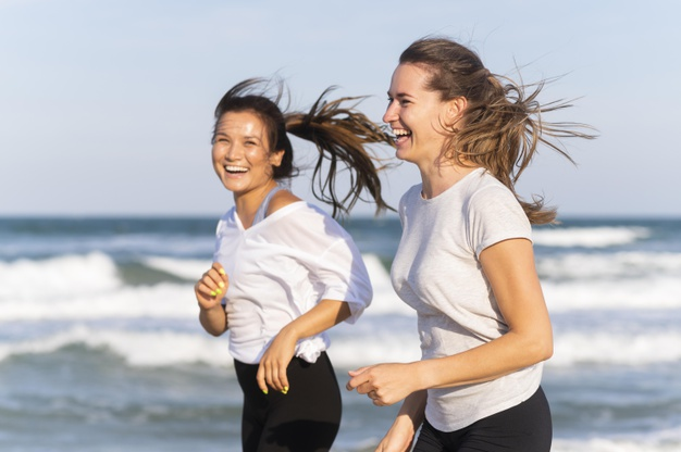 piger der løber